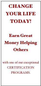 CHANGE YOUR LIFE TODAY!